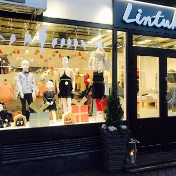 Lintukoto children's clothing shop