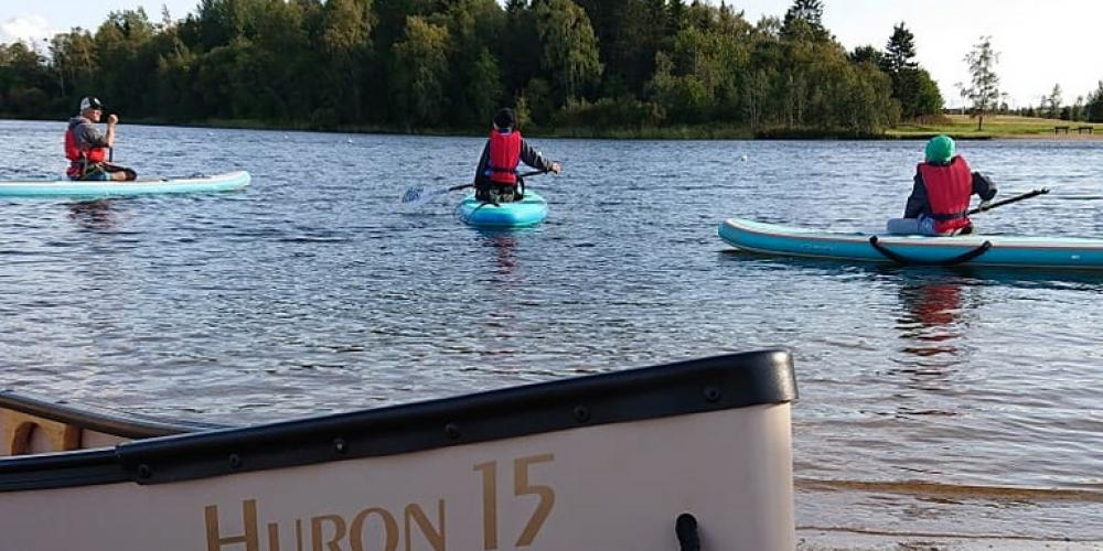 Stand-up paddleboarding with Botnia Outdoor | Raahe