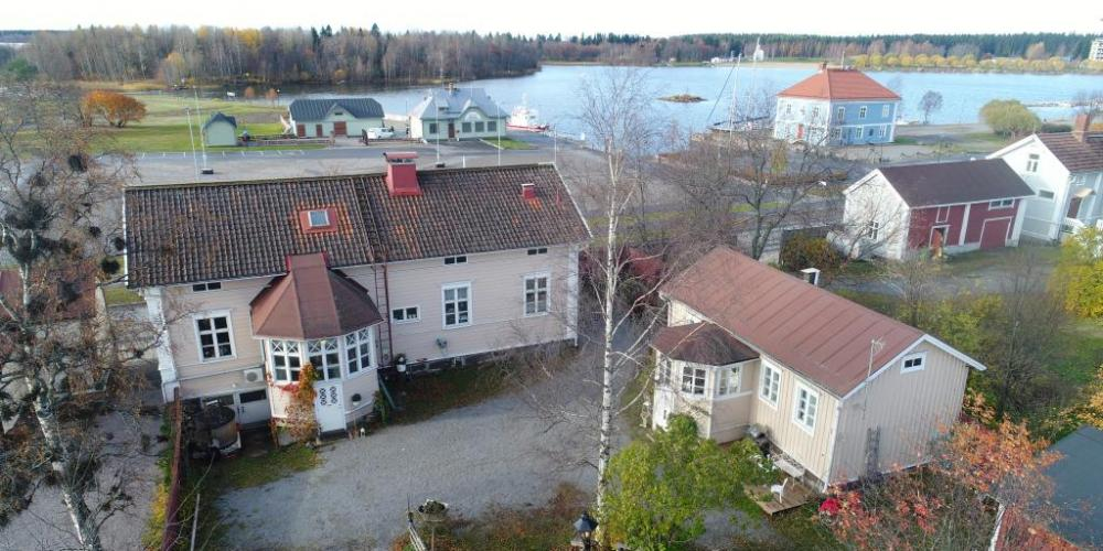 The Katariinan kamari holiday home in Old Raahe by the sea.